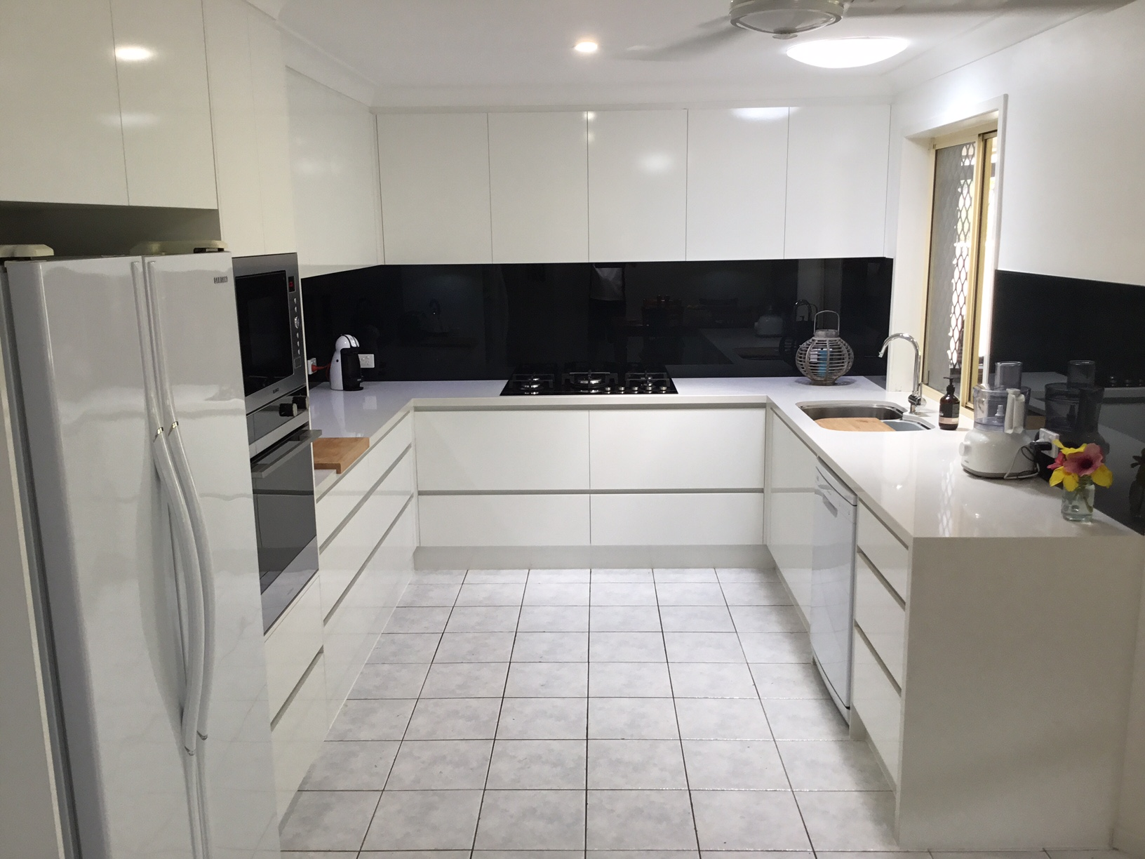 Kitchen renovations -Gold Coast -Ashmore - (before - after)